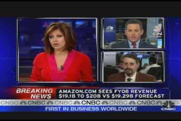 AMZN Reports Earnings