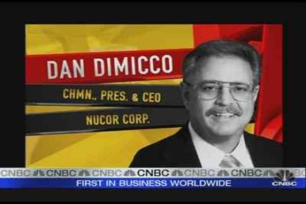 NUE CEO Talks Earnings
