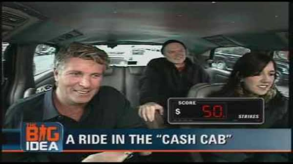 Donny Deutsch Rides The Cash Cab