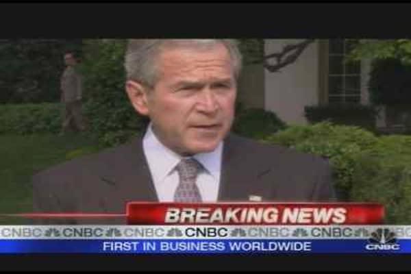 Bush on Stimulus