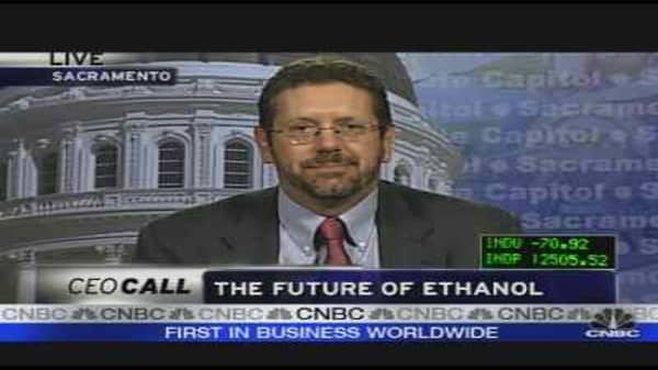 PEIX CEO on Ethanol