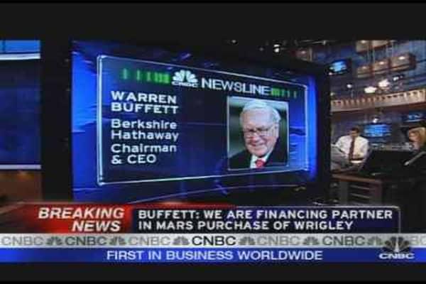 Mars & Berkshire Buy Wrigley