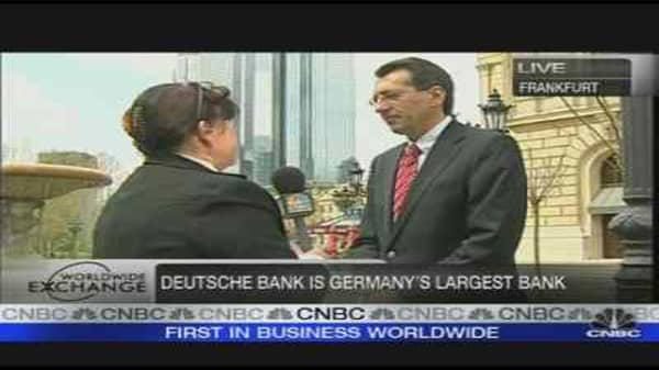 Deutsche Bank Posts Loss