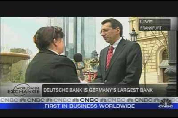 Deutsche Bank Posts Loss