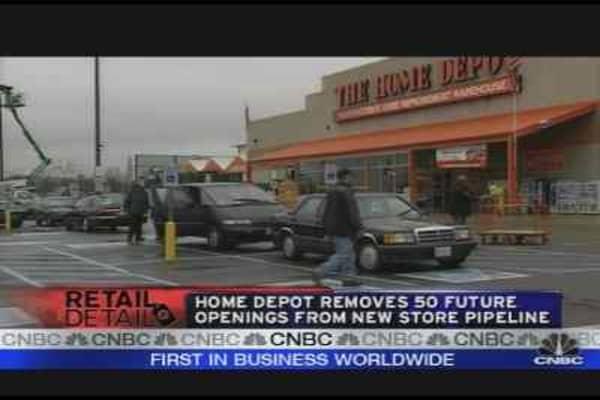 Home Depot Closings