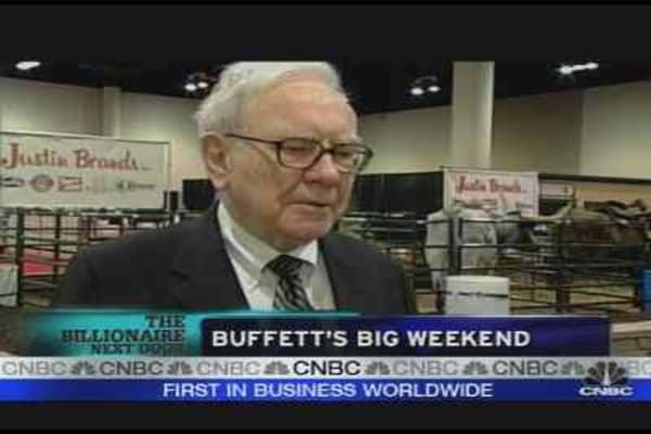 Buffett's Big Weekend