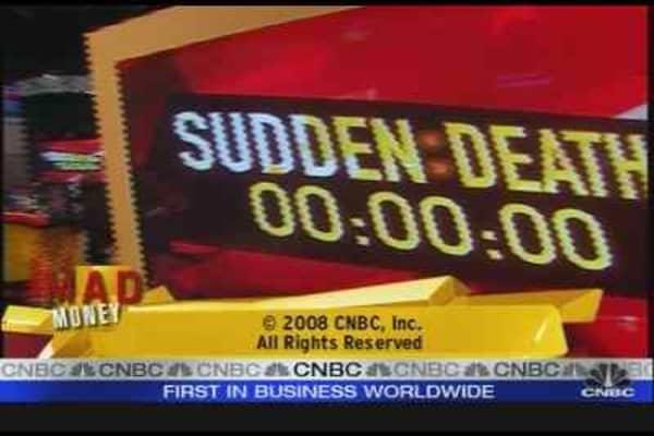 Mad Money Sudden Death