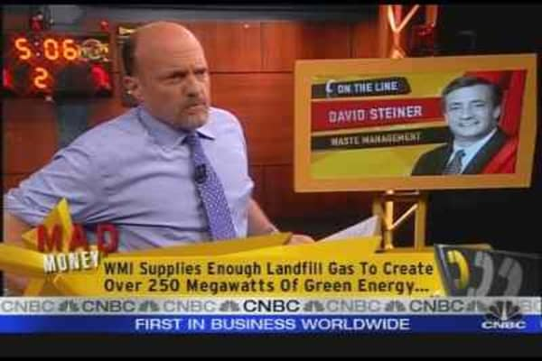 WMI CEO Talks With Cramer