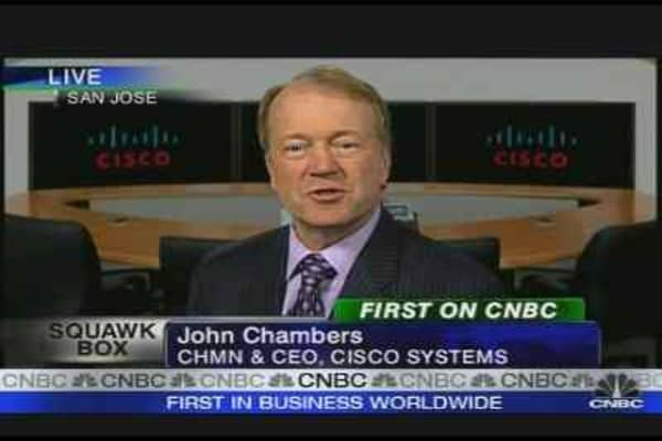 Cisco Q3 Profit Tops Expectations