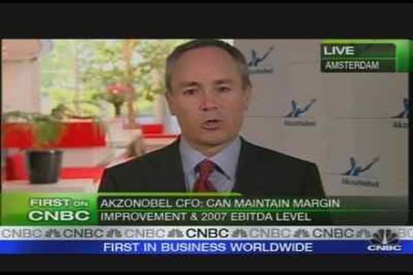 AkzoNobel CFO on Earnings, Outlook