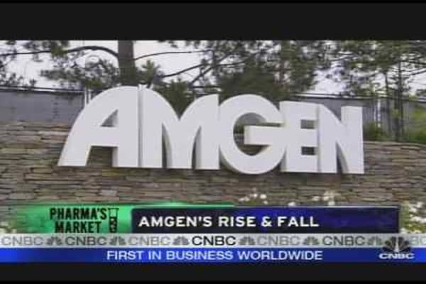 Earful for Amgen's CEO