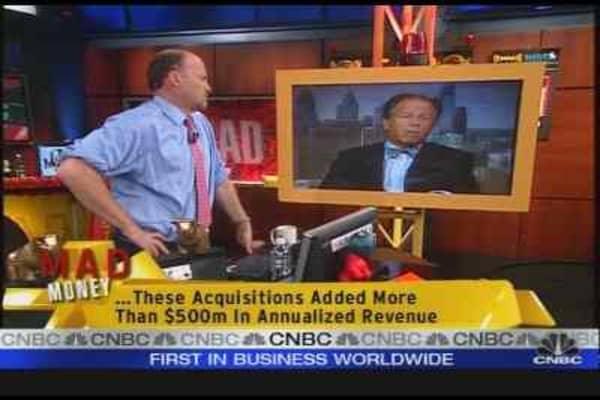 Airgas CEO Talks Earnings