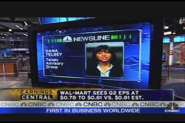 Wal-Mart Earnings