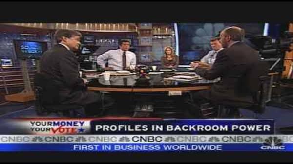 Profiles in Backroom Power