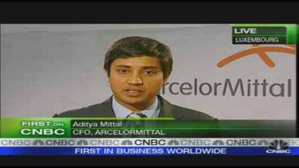 ArcelorMittal CFO on Earnings