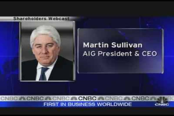 Will Sullivan Stay at AIG?