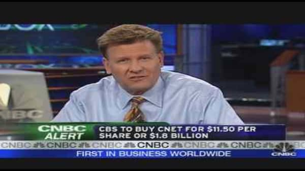 CBS to Buy CNET