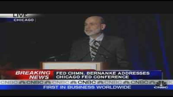 Bernanke on Banks