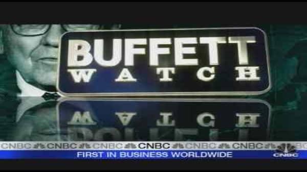 Buffett Begins Euro Tour