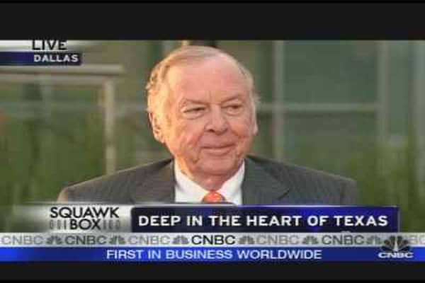 Boone Pickens on Alternative Energy