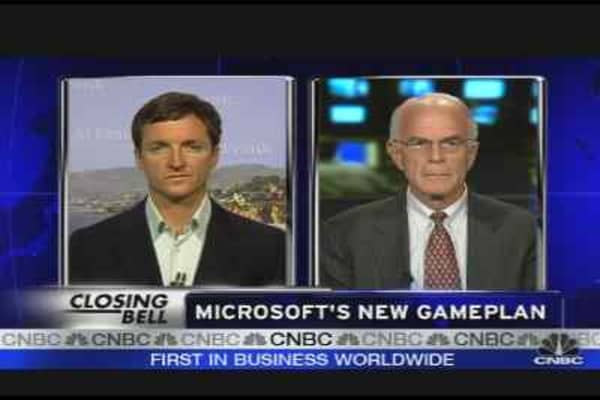 Microsoft's New Game Plan