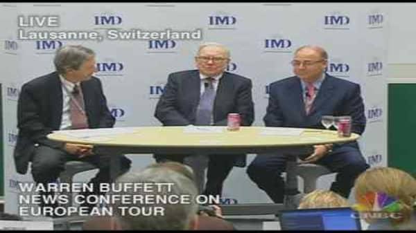 Warren Buffett Euro Tour