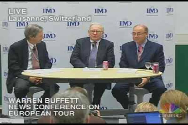 Warren Buffett Euro Tour