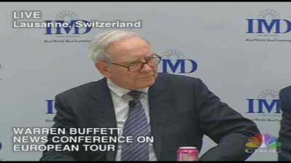 Warren Buffett Euro Tour 3