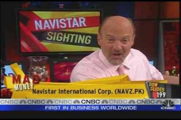 Cramer's Navistar Sighting