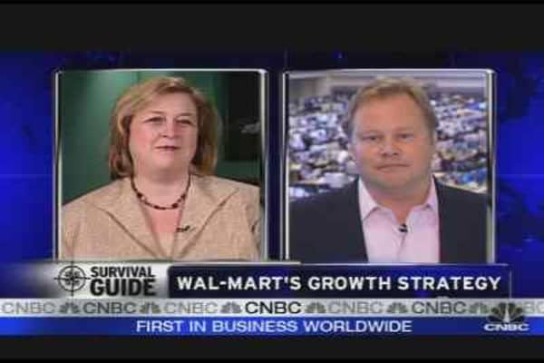 Wal-Mart's Growth Strategy