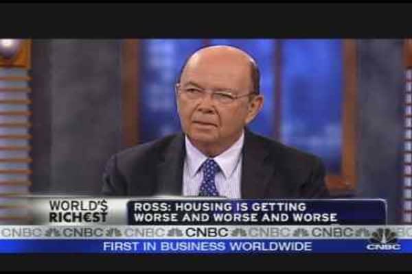 Wilbur Ross on the Economy