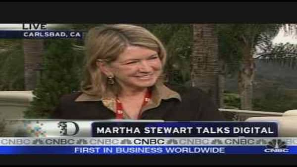 Martha Stewart at the D Conference