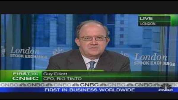 Rio Tinto CFO on Production, Exploration Plans