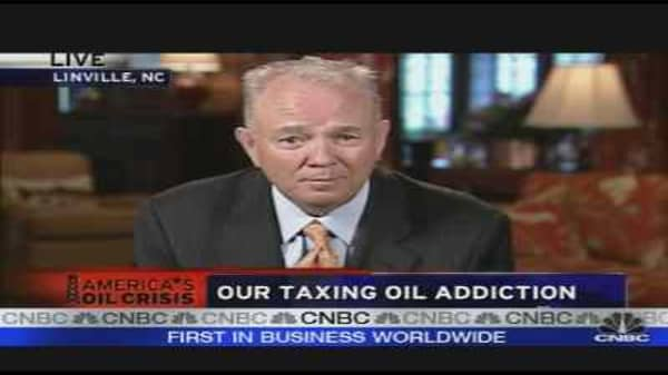 Our Taxing Oil Addiction