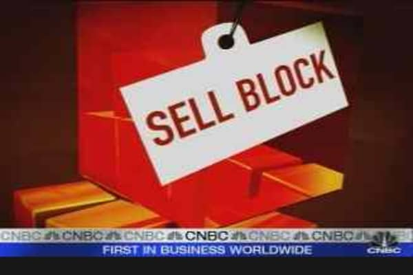 Mad Money Sell Block