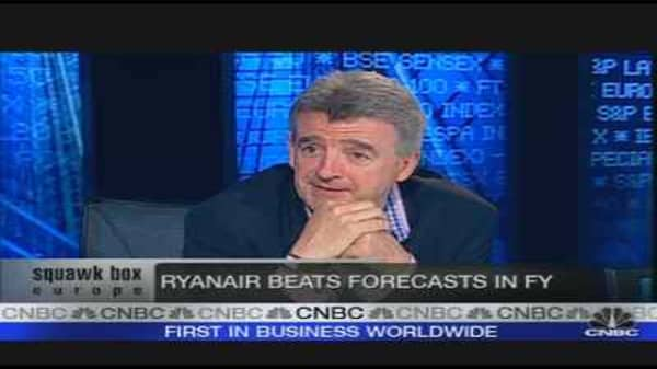 High Oil Price Could Hurt Ryanair