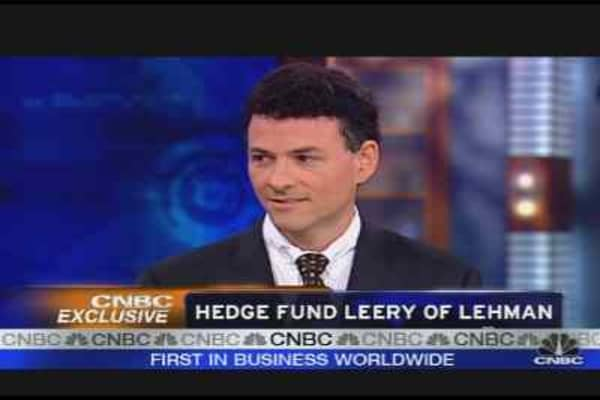 Hedge Fund Leery of Lehman