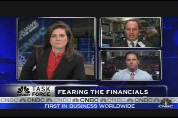 Fearing the Financials