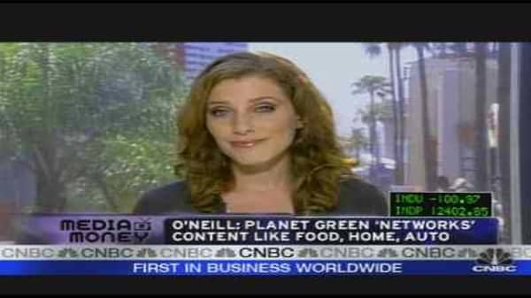 Discovery Channel Goes Green