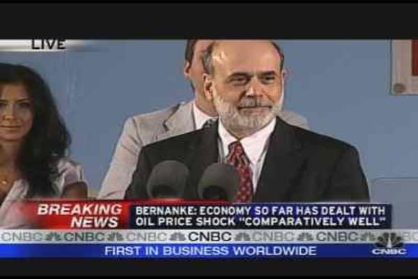Bernanke on Inflation