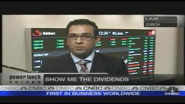 Show Me the Dividends