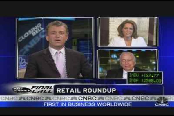Fast Money Call: Retail