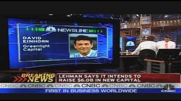 Lehman's Q2 Loss