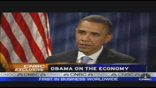 CNBC Exclusive: Barack Obama