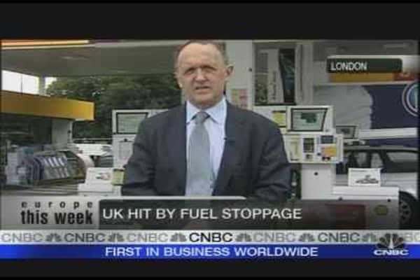 UK Fuel Strikes Continue