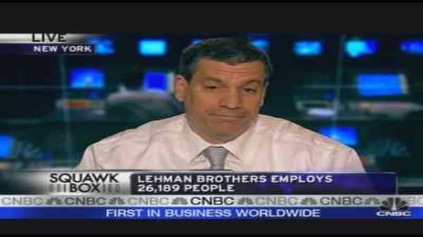 Rumblings at Lehman Brothers