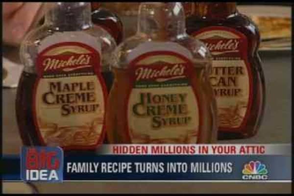 Michele Hoskins of Michele's Syrup