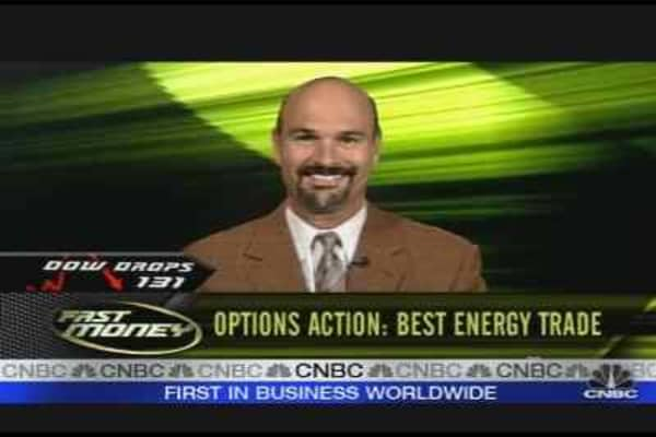Options Action: Energy