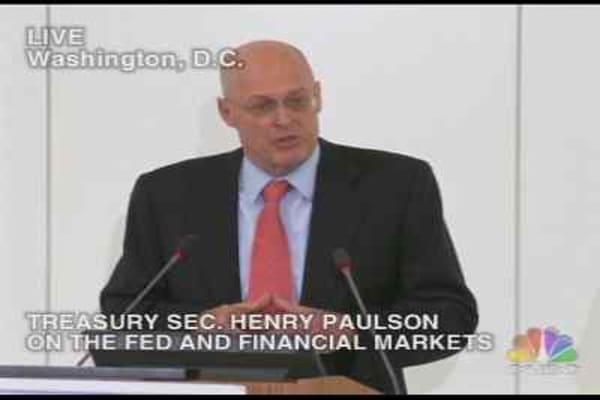 Paulson Q&A