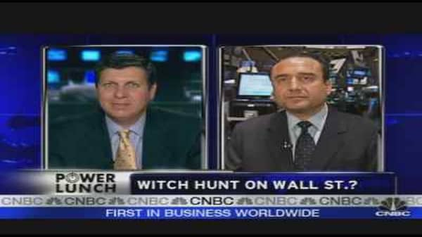 Wall Street Witch Hunt